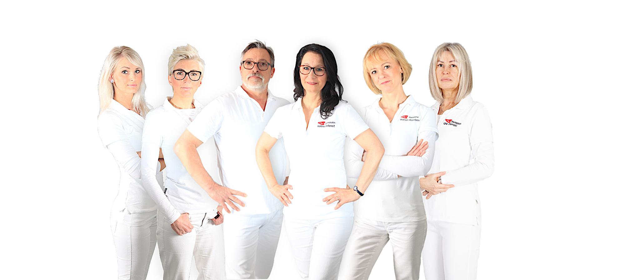 Gruppenbild Zahnarztpraxis Petereit